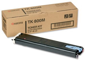 Original Kyocera TK-800M Magenta Toner Cartridge