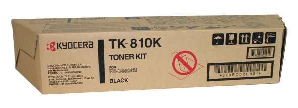 Original Kyocera TK-810K Black Toner Cartridge