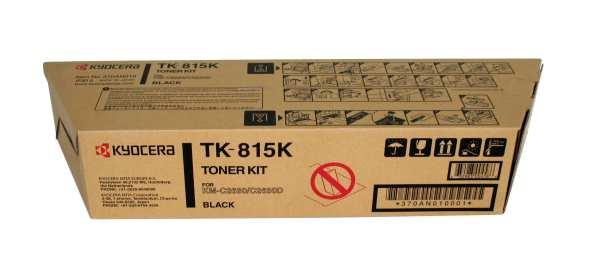 Original Kyocera TK-815K Black Toner Cartridge