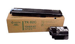 Original Kyocera TK-82Y Yellow Toner Cartridge