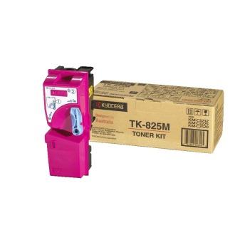 Original Kyocera TK825M Magenta Toner Cartridge