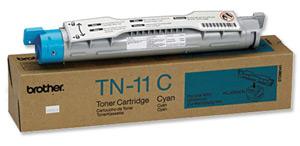 Original Brother TN11C Cyan Toner Cartridge