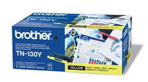 Original Brother TN130Y Yellow Toner Cartridge