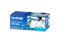 Original Brother TN135C Cyan Toner Cartridge