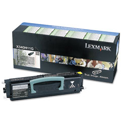Original Lexmark X340H11G Black Toner Cartridge