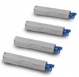 Original Oki 434593 Toner Cartridge Multipack (43459332/31/30/29)