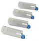 Original Oki 4338190 Toner Cartridge Multipack (43324408/43381907/43381906/43381905)