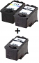 Remanufactured Canon PG-510 Black and CL-511 Colour High Cap. Ink cartridges + EXTRA BLACK