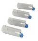 Original Oki 4386572 Toner Cartridge Multipack (43865724/3/2/1)